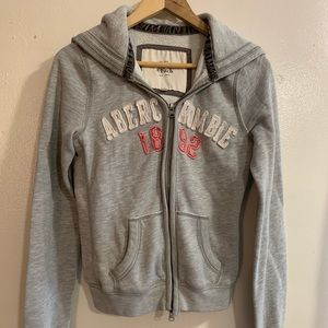 Abercrombie & Fitch Gray Hoodie